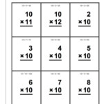 10 Times Table Worksheet For Children | K5 Worksheets | Kids Intended For Printable Multiplication Flash Cards