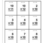 10 Times Table Worksheet For Children | K5 Worksheets | Kids Intended For Printable Multiplication Flash Cards