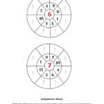 2: Multiplication Wheels   Printable Math Worksheets Pages 1 In Printable Multiplication Wheels