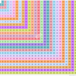 25×25 Multiplication Table | Multiplication Chart Throughout Printable Multiplication Table Up To 25
