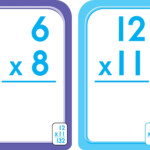 3Rd, 4Th And 5Th Grade   Multiplication Flash Cards 0 12 Throughout Printable Multiplication Flash Cards