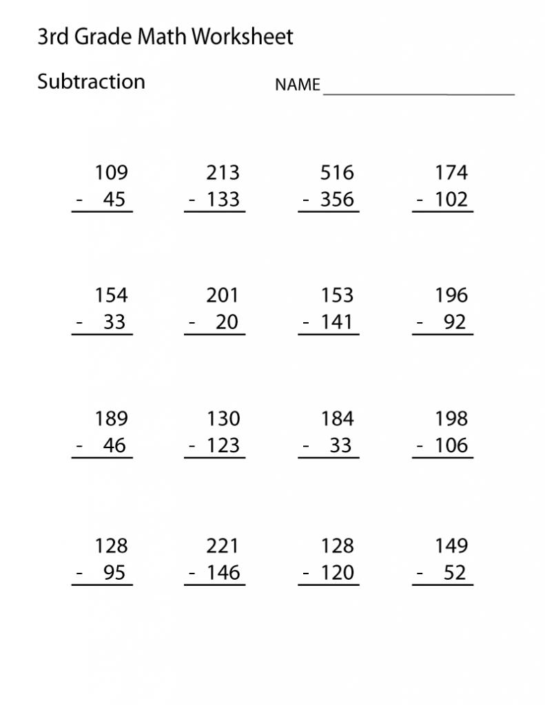 3Rd Grade Math Worksheets | 3Rd Grade Math Worksheets, Math for Multiplication Worksheets 7Th Grade