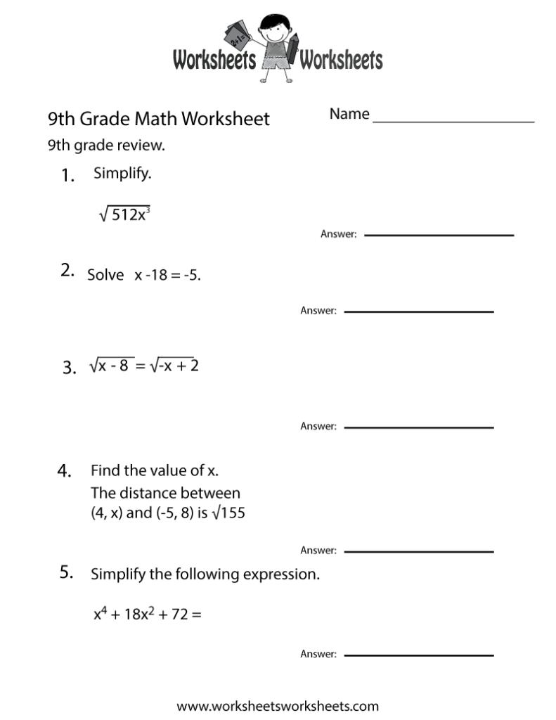 6Th De Homework Sheets Ninth Math Practice Worksheet Free Throughout Printable Multiplication Practice Worksheets
