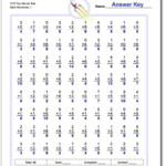 80 And 100 Problem Spaceship Math/rocketmath/mad Minute Throughout Multiplication Worksheets 80 Problems