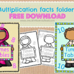 A Muslim Homeschool: Multiplication Fact Foldersmaking Regarding Multiplication Lapbook Printable