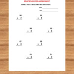 Addition 1 Minute Drill H With Answers (10 Math Sheets)/pdf With Regard To 6 Multiplication Worksheets Pdf