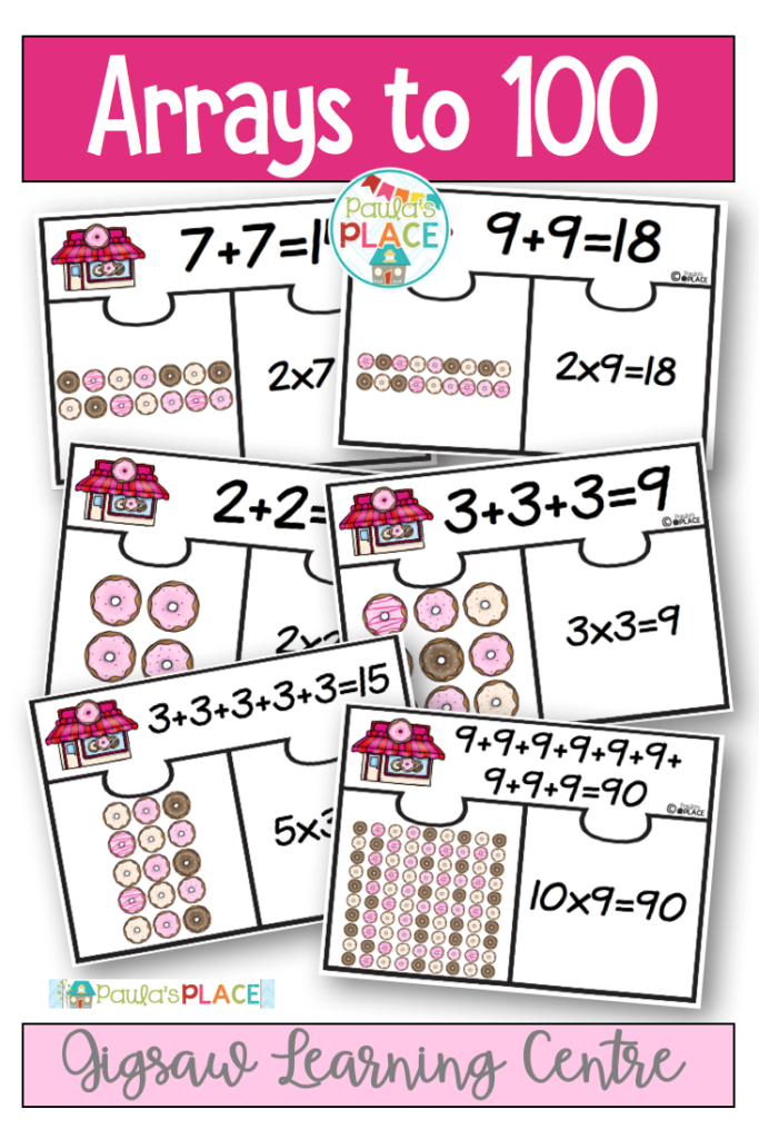 Arrays Jigsaw Puzzles | Multiplication Facts, Teaching With Regard To Multiplication Jigsaw Printable