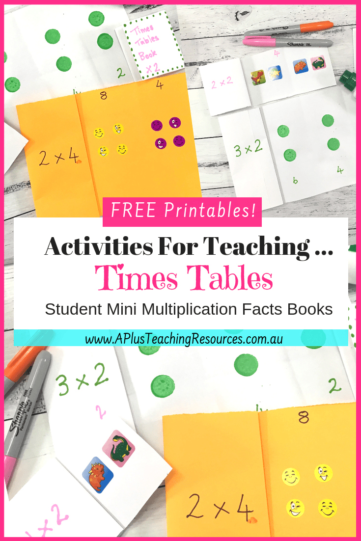 Best Times Tables Printable Number Games {Results Guaranteed!} intended for Printable Multiplication Booklets