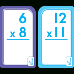 Bilingual Multiplication 0 12 Flash Cards (Multiplicacion 0 12 Tarjetas  Ilustrativas) Throughout Printable Multiplication Flash Cards 0 12