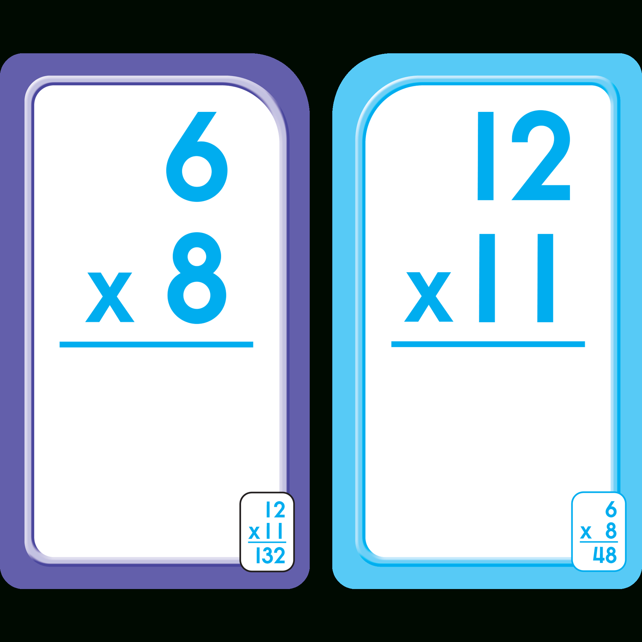 Bilingual Multiplication 0-12 Flash Cards (Multiplicacion 0-12 Tarjetas  Ilustrativas) throughout Printable Multiplication Flash Cards 0-12