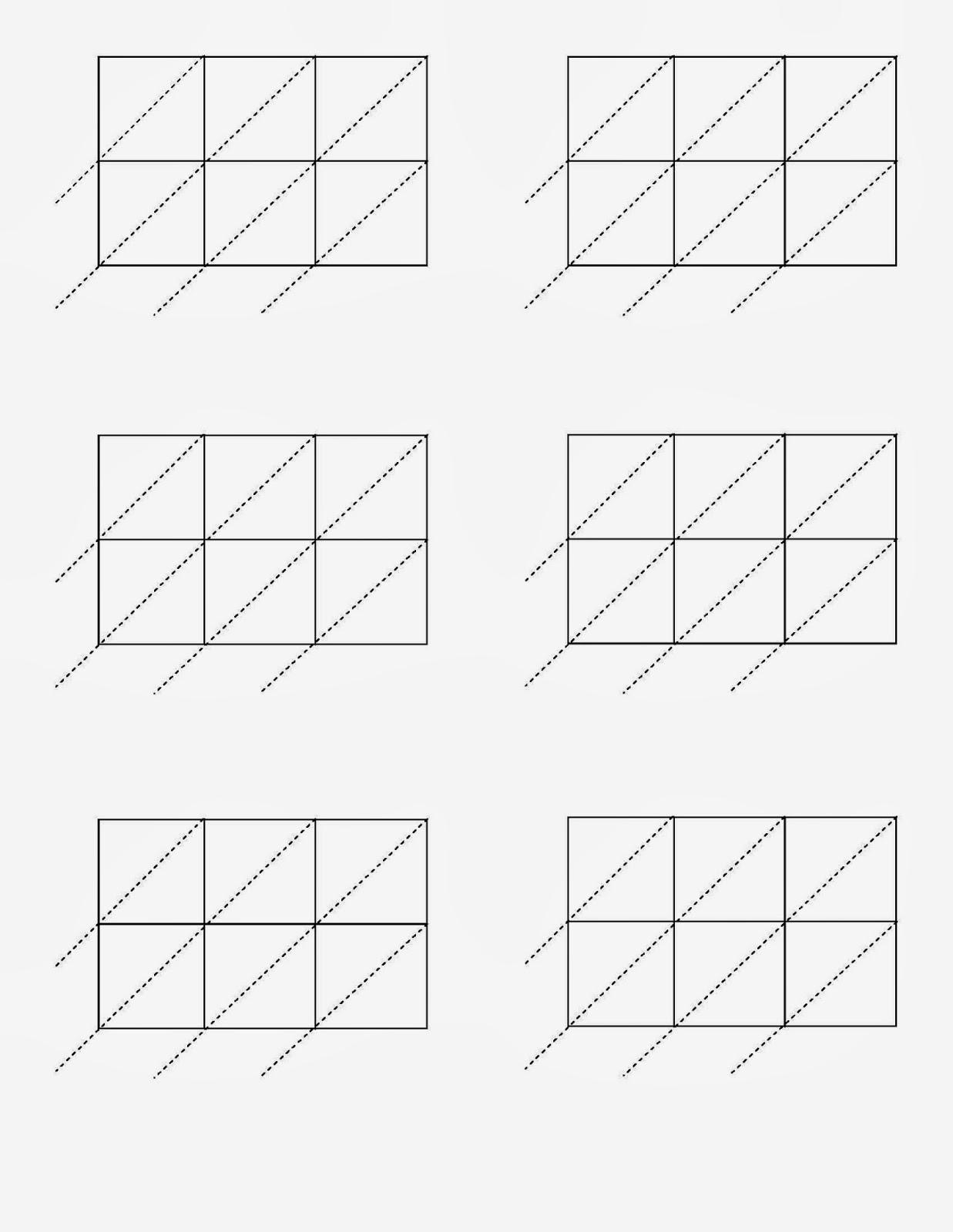 Blank Lattice Multiplication Worksheets & Lattice pertaining to Free Printable Lattice Multiplication Grids