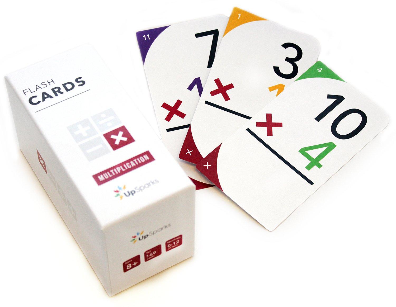 Buy Upsparks Multiplication Flash Cards (0-12 All Facts within Printable Multiplication Flashcards 0-12