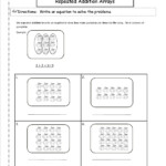 Ccss 2.oa.4 Worksheets Within Multiplication Worksheets Repeated Addition