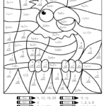 Coloring Book : Coloring Pages Free Colornumber Math With Regard To Worksheets In Multiplication