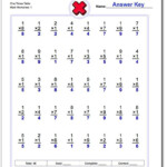 Conventional Multiplication Practice Worksheets Intended For Free Printable Multiplication Quiz