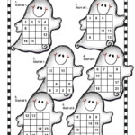 Counting Ghosts Is A Math Puzzle Sheet From Halloween Math Pertaining To Multiplication Worksheets Halloween