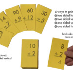 Division 1 12 (All Facts) Flash Cards Plus Free Division Facts Sheet  (Printables) Regarding Printable Multiplication Flash Cards 1 12