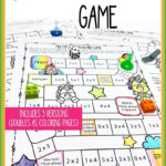 Easy To Use Free Multiplication Game Printables Throughout Multiplication Lapbook Printable