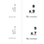 Flashcards (Print Yourself)   Rocket Math Regarding Printable Multiplication Flash Cards
