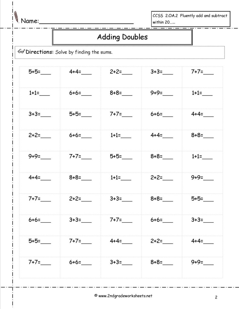 Free Math Worksheets And Printouts Inside Free Printable Multiplication Problems