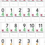 Free Multiplication Flash Cards Printable Sheets From Upsparks Regarding Printable Multiplication Flashcards 0 12