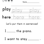 Free Spelling Ksheets For Kindergarten Rhyming D Action Ds Inside Free Printable Multiplication Rhymes
