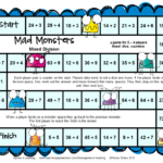 Games Educational: Monster Math Games Makeover! With Regard To Printable Multiplication Board Games