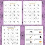 Halloween Math 2 Digit2 Digit Multiplication Worksheets With Regard To Multiplication Worksheets Halloween