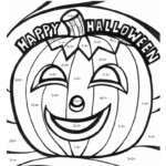 Halloween Math Fact Coloring Page | Halloween Coloring Pages Regarding Multiplication Worksheets Halloween
