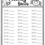 Halloween Math Multiplication Worksheets In Multiplication Worksheets Halloween