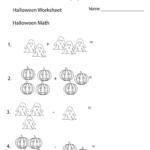 Halloween Math Worksheet   Free Printable Educational Worksheet In Multiplication Worksheets Halloween