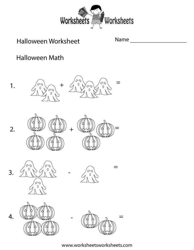 Halloween Math Worksheet - Free Printable Educational Worksheet in Multiplication Worksheets Halloween