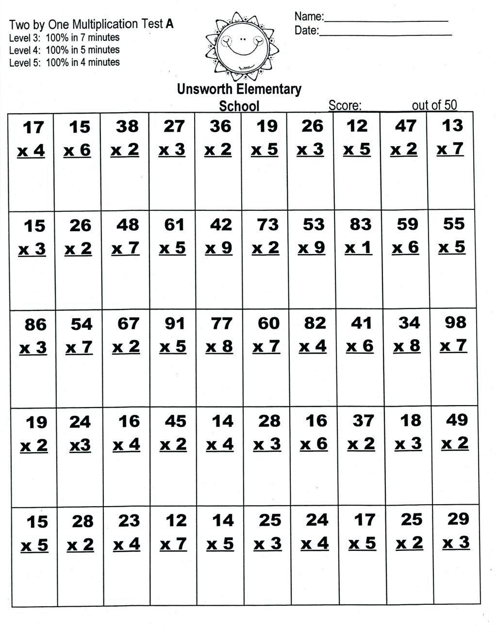 Kids Worksheets Year Homework Sheets Worksheet Ideas 9Th in Multiplication Worksheets 9Th Grade