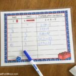 Lego Multiplication Mats! Printable Math Activity   Frugal Regarding Printable Multiplication Mats