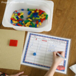 Lego Multiplication Mats! Printable Math Activity   Frugal With Regard To Printable Multiplication Mats