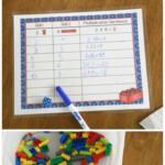 Lego Multiplication Mats! Printable Math Activity | Lego Regarding Printable Multiplication Mats