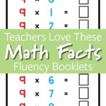 Math Facts Booklets For Fluency Practice | Bc Curriculum Throughout Printable Multiplication Booklets