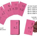 Math Flash Cards. All Facts Through 12. Addition Regarding Printable Multiplication Flash Cards
