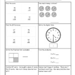 Mental Math Grade 3 Addition Worksheet | Printable Intended For Multiplication Worksheets Entry Level 3