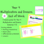 "Mrs Bunny On Twitter: ""11 Hours Of Lessons Available For With Multiplication Worksheets Year 3 Tes"