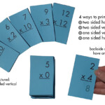 Multiplication 0 12 (All Facts) Flash Cards Plus Free Multiplication Facts  Sheet (Printables) Pertaining To Printable Multiplication Cards 0 12