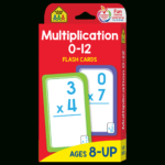 Multiplication 0 12 Flash Cards Pertaining To Printable Multiplication Flash Cards 0 12