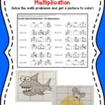 Multiplication Activity Grid Drawing Math Worksheets | Math Pertaining To Printable Multiplication Activities