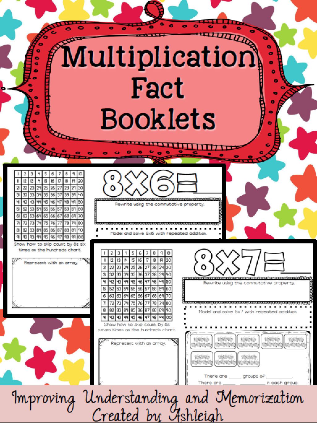 Multiplication Fact Booklets Help Students Learn Their throughout Printable Multiplication Booklets