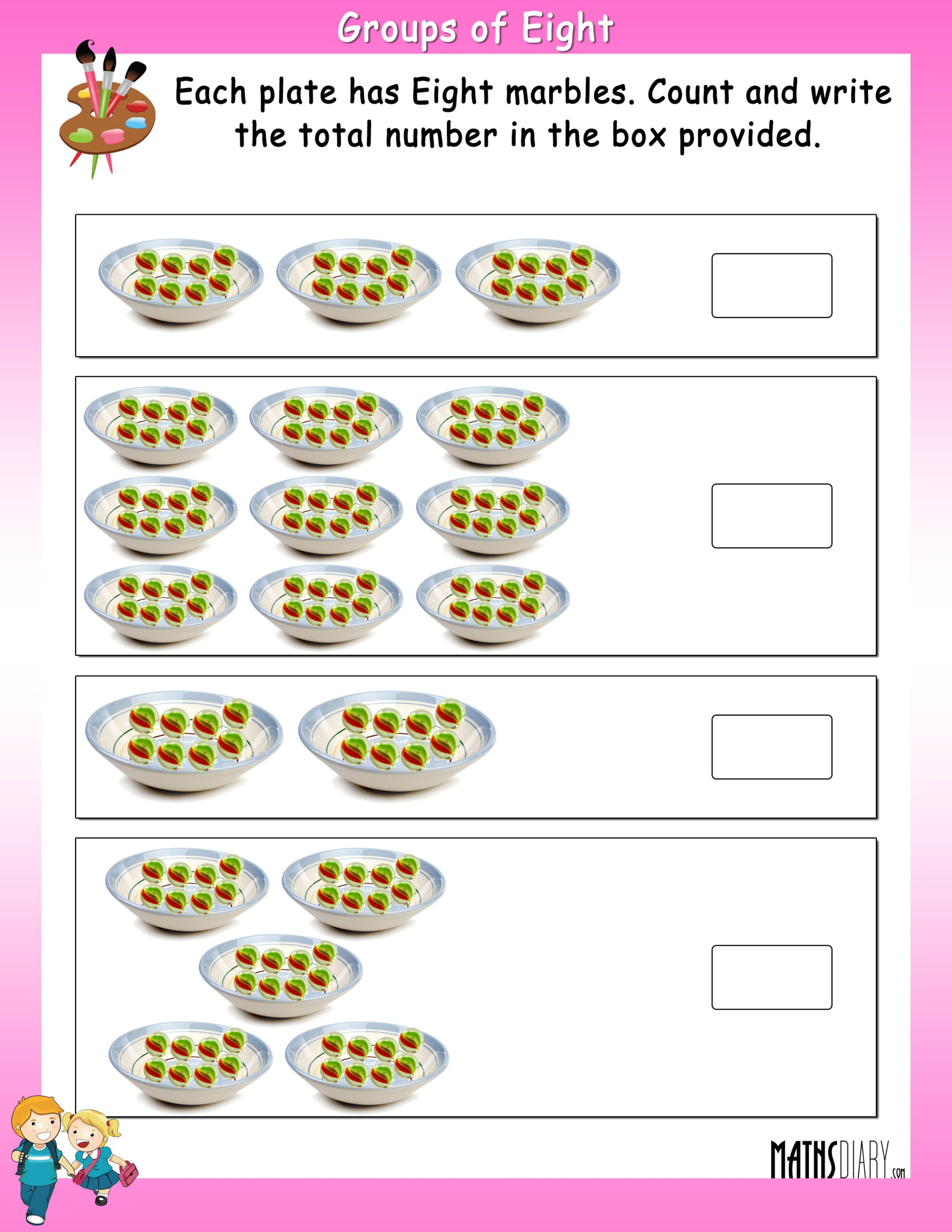 Multiplication Fact - Math Worksheets - Mathsdiary with Worksheets Multiplication Grade 2