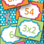 Multiplication Flash Card Match | Multiplication, Learning Within Printable Multiplication Flash Cards 0 12