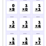 Multiplication Flash Cards To Print   Zelay.wpart.co Regarding Printable Multiplication Cards 0 12