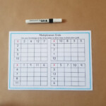 Multiplication Grids Worksheets Ks2 Maths Grid Method Sheets Pertaining To Printable Multiplication Grid Worksheet Generator