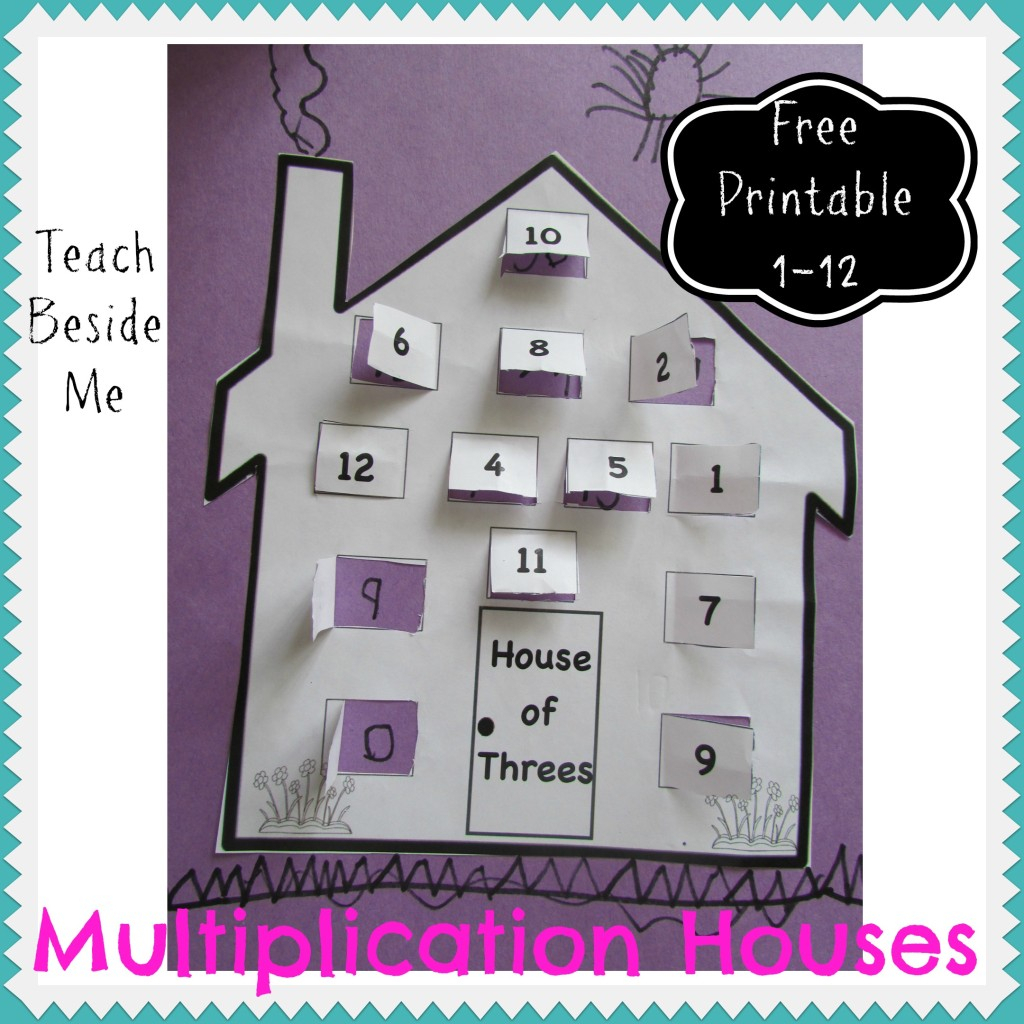 Multiplication House Printables – Paassc regarding Multiplication Houses Printable