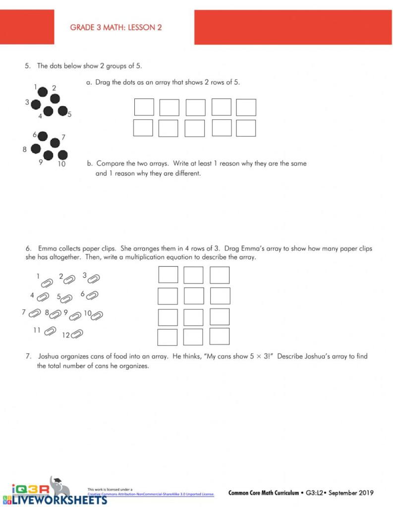 Multiplication   Interactive Worksheet Pertaining To Multiplication Worksheets 8's And 9's